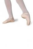 Leinenchläppchen Sybel lachsrosa