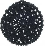 Haarnetz aus Glitzergarn