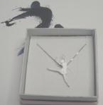 Anhänger Ballerina in Silber mit Kettchen